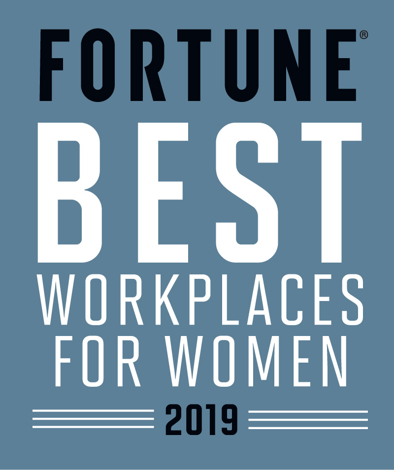 Fortune Best Place to Work for Women 2019 Award