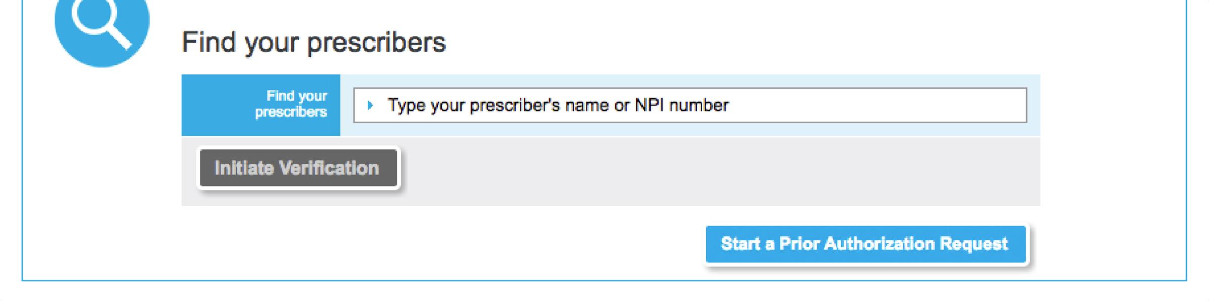 Verify your prescribers