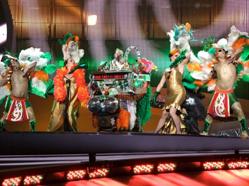 ESC 2008 - Ireland - Dustin the Turkey, 1st semifinal
