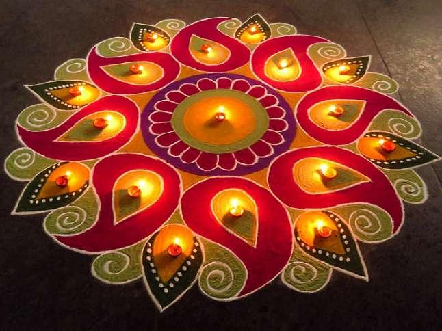 Rangoli Diwali