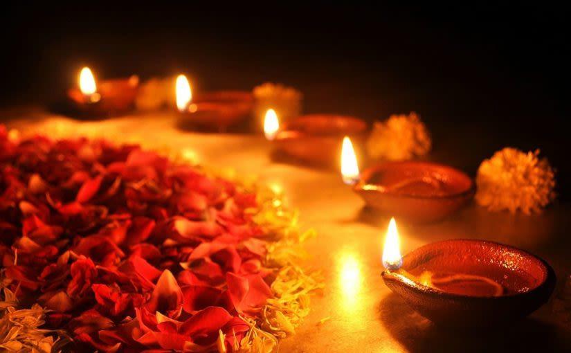 Diwali diya lamps