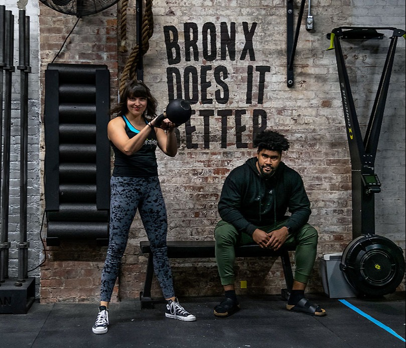 Gym in the South Bronx