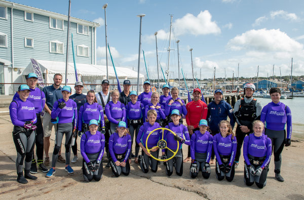 SailGP Inspire starts legacy with local community partner UKSA