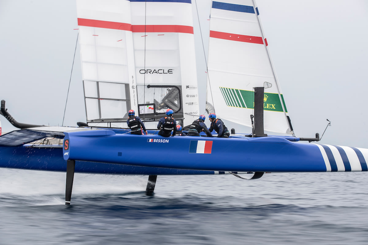 France SailGP Team introduces its roster for 2020