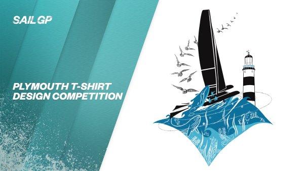 """Emma Beavis, Studentin der University of Plymouth, gewinnt den Wettbewerb zur Gestaltung von SailGP-Merchandise mit """"schönen"""" Kunstwerken des Great Britain Sail Grand Prix"""