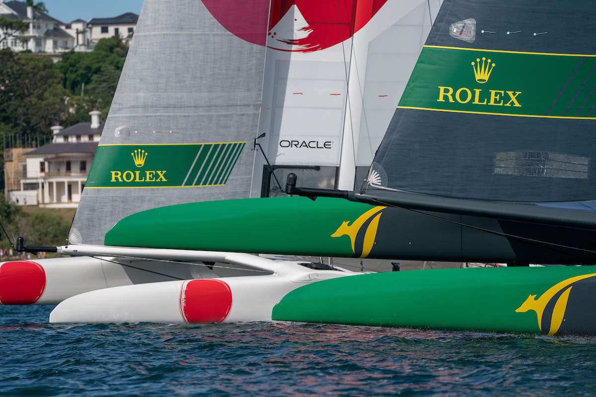 Japan and Australia SailGP Team