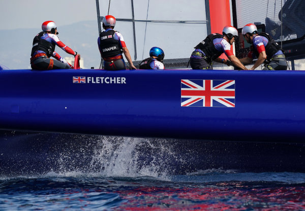 GREAT BRITAIN SAILGP TEAM READY FOR RACING IN MARSEILLE