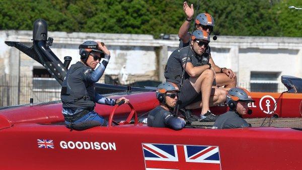 Frühe Wettervorhersage und Vorhersagen für den Great Britain Sail Grand Prix