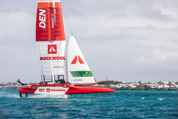 Denmark SailGP Team first to hit the water in Bermuda ahead of SailGP Season 2