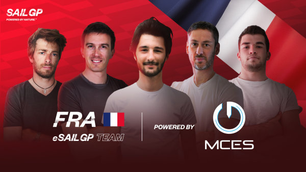 France SailGP Team announces the creation of its virtual team France eSailGP Team powered by MCES