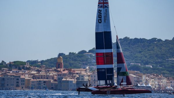 Mixed opening day for Great Britain SailGP Team on the French Riviera