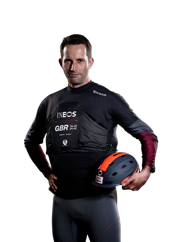 SailGP GREAT BRITAIN BEN AINSLIE LEFT 600x800