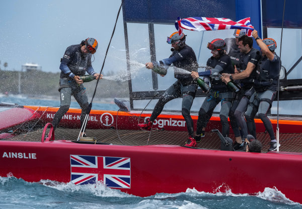 Great Britain SailGP Team win Bermuda Sail Grand Prix after dramatic day of action