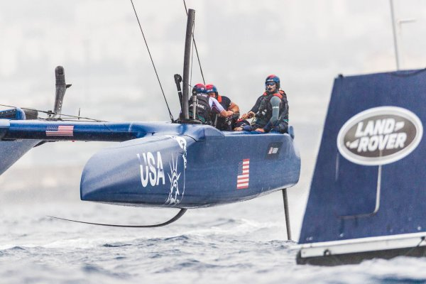 Disappointing Day Two for U.S. SailGP Team at Marseille SailGP