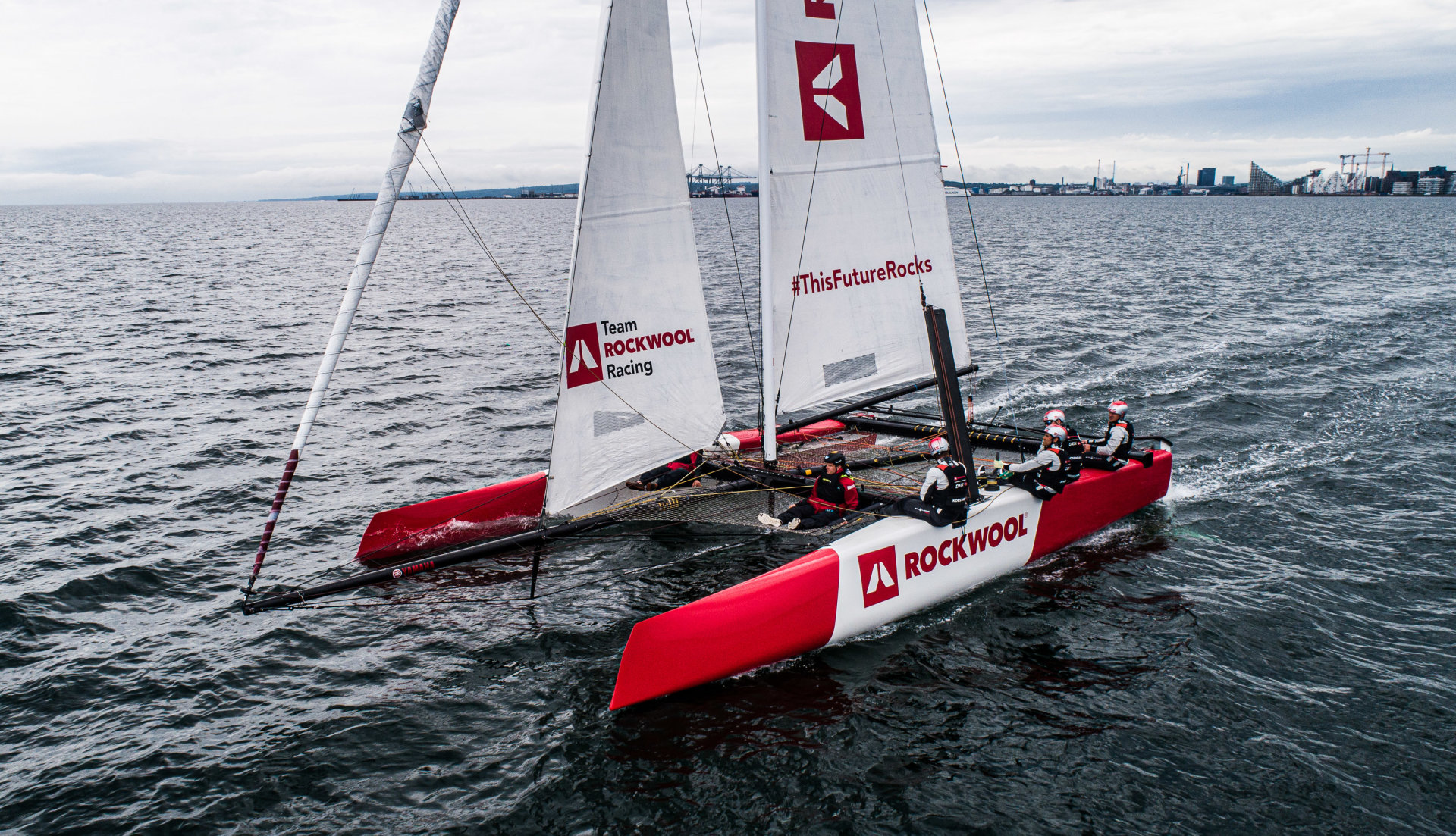 Team ROCKWOOL Racing hits the water; eyes historic record attempts