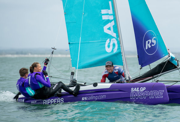 SailGP stars take to the water to kick off future-focused Inspire program