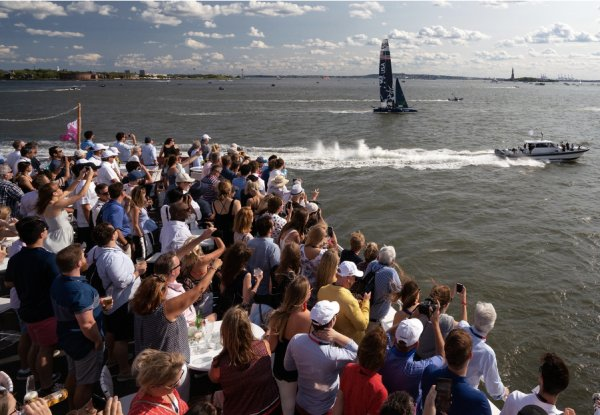 Tickets now available for SailGP's return to New York