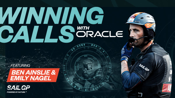 SailGP and Oracle partner for seven-part Winning Calls content series