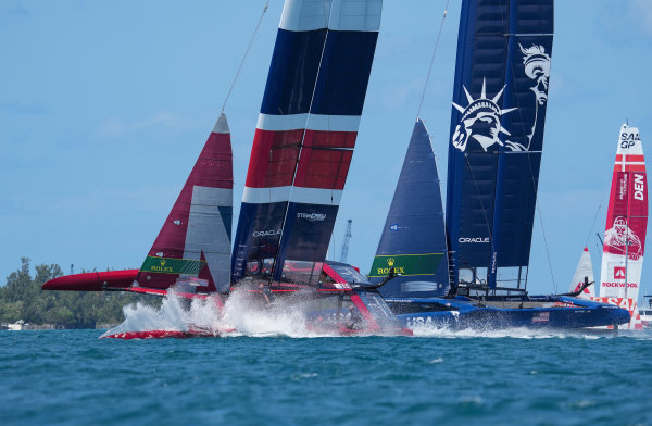 Challenging return to action for Great Britain SailGP Team in Bermuda