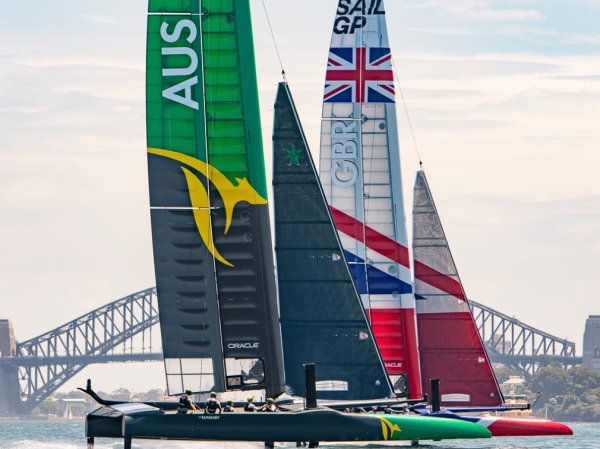 National colors released on Sydney Harbour
