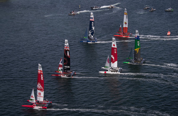 Danish make their mark in exhilarating first day of SailGP Season 2
