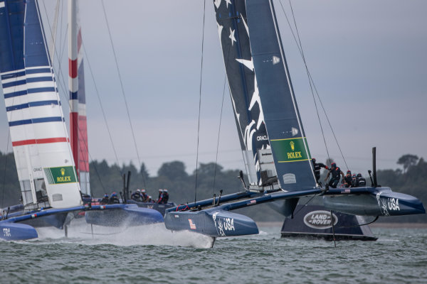 U.S. SailGP Team Look to Climb Overall Standings at Cowes SailGP
