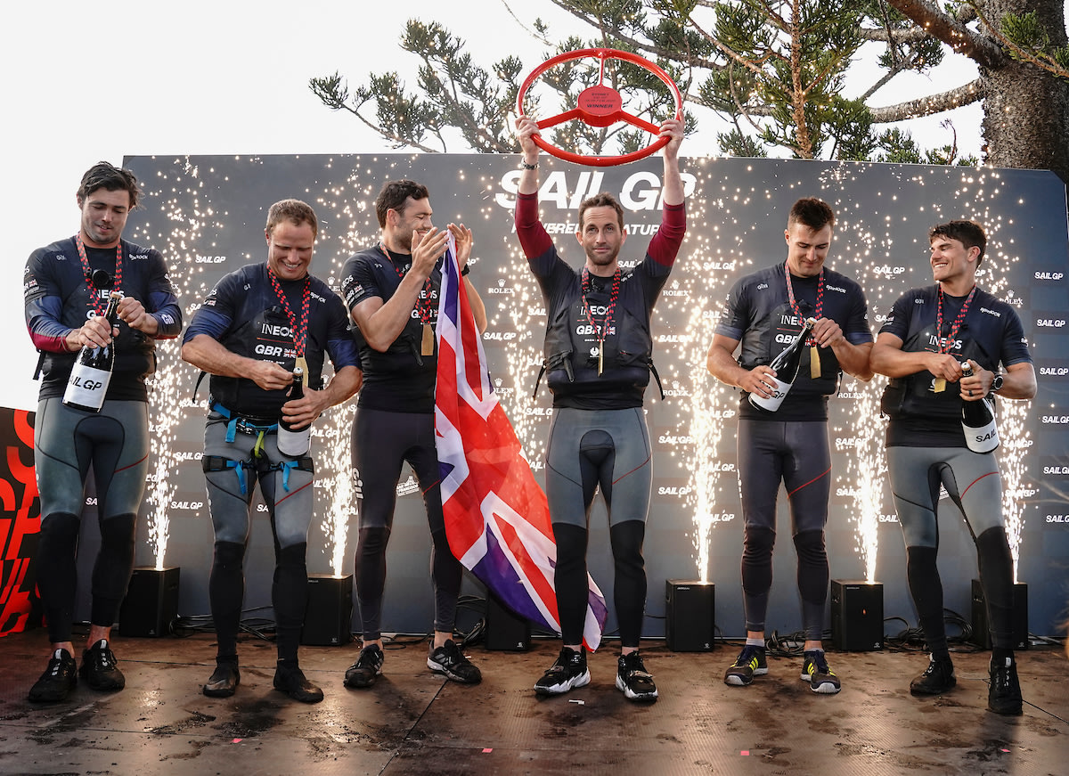 Britain's Ocean City selected to host SailGP in Season 2