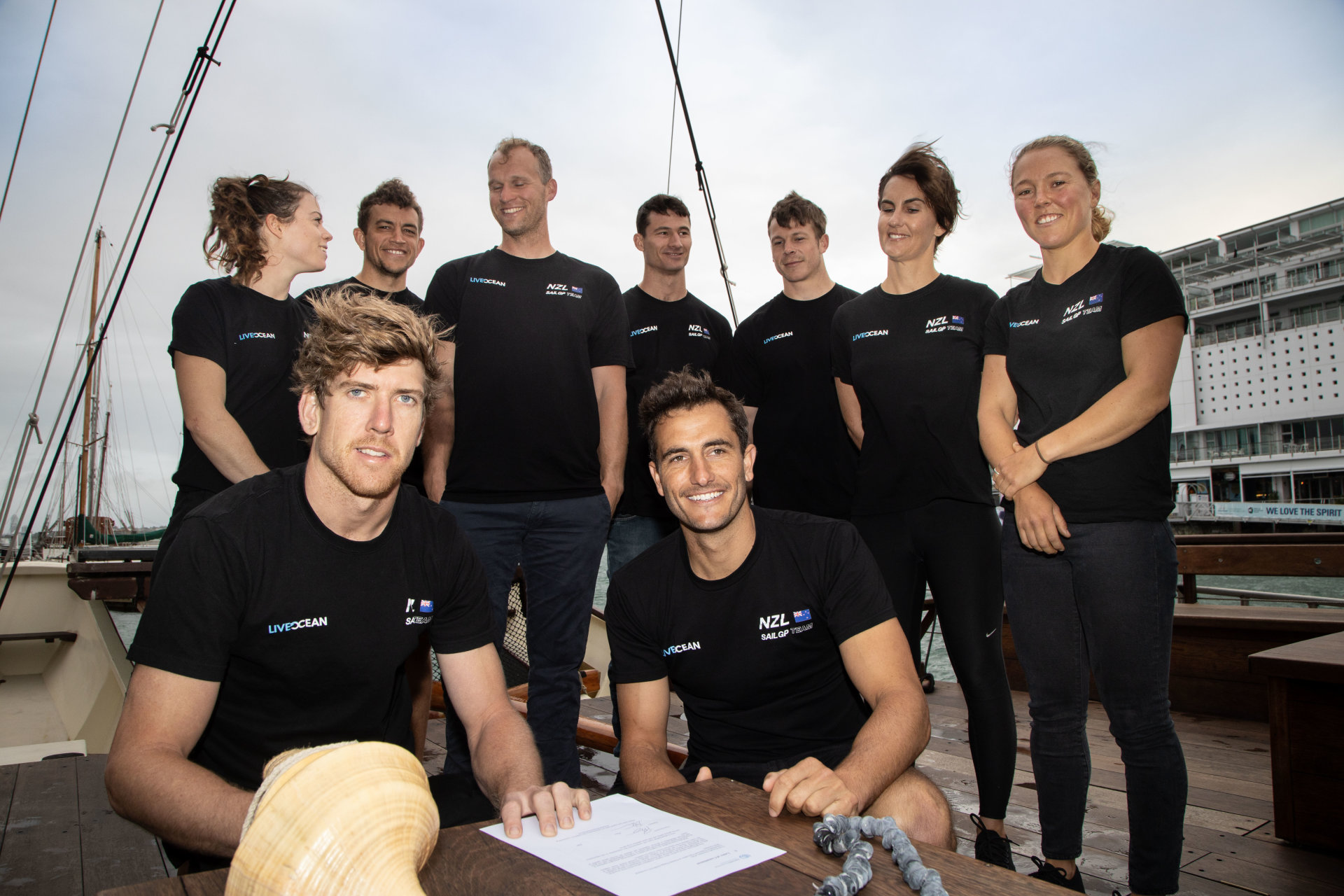 New Zealand SailGP Team Signs UN Sports for Climate Action Framework