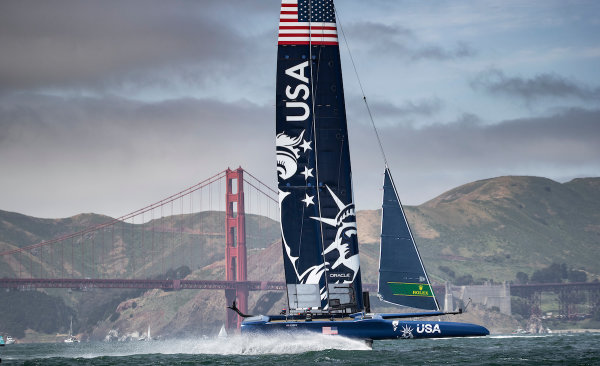 SailGP auctions ride on fastest race boat in the world to benefit COVID-19 relief