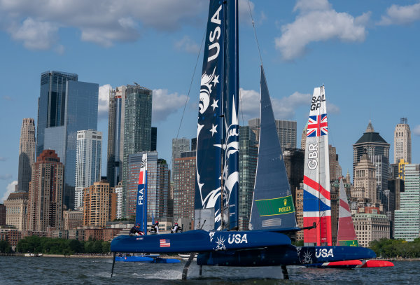 United States SailGP team take the lead at the New York SailGP