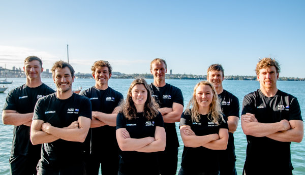 Burling and Tuke's New Zealand SailGP Team unveiled