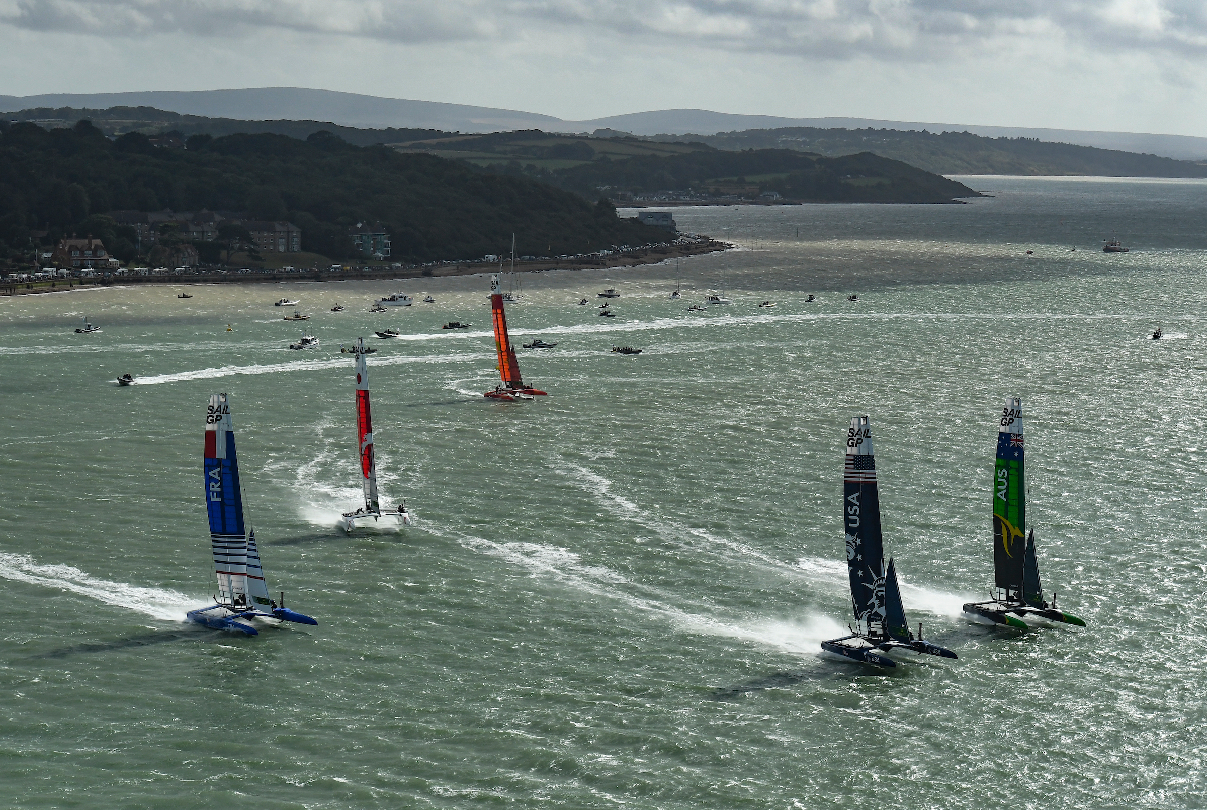 The fleet in Cowes