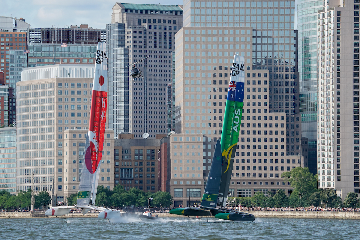 Japan and Australia NY match race final