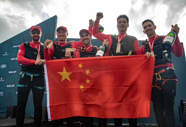 China SailGP battle against the odds to take third place in SailGP Grand Final in Marseille