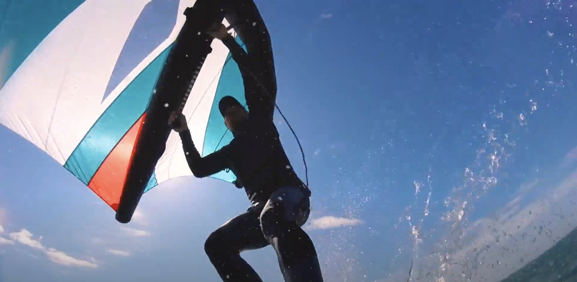 Racing on the Edge // Nathan Outteridge learns to foilboard