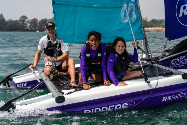 First-ever SailGP Inspire Learning Camp on Lake Macquarie