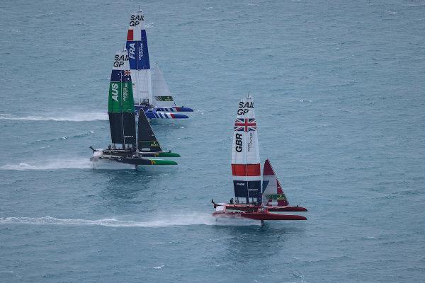Das australische SailGP-Team von Tom Slingsby bringt die Briten ans Limit, kann sich aber im dramatischen Finale auf Bermuda nicht den Sieg sichern
