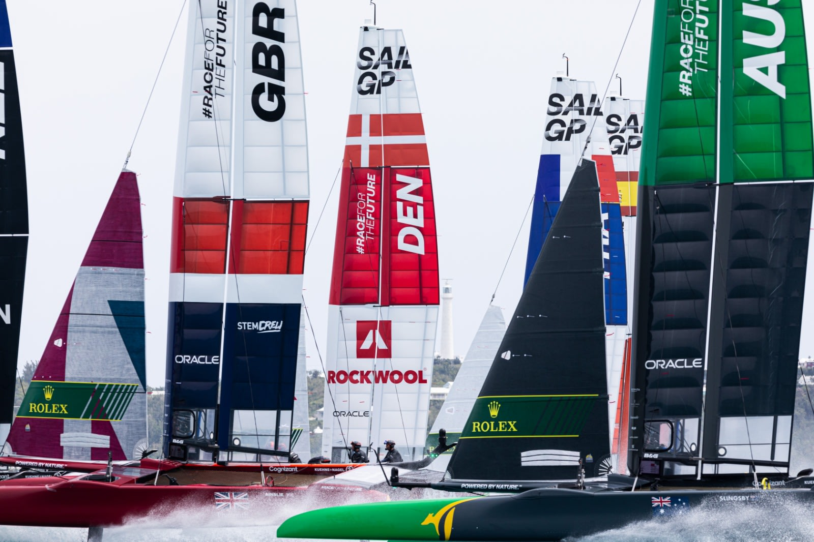 Denmark SailGP Team claims sixth in dramatic weekend at Bermuda Sail Grand Prix