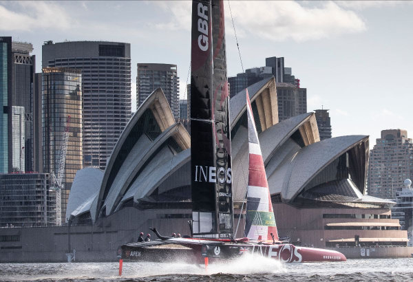 Great Britain SailGP Team ready to race in Sydney