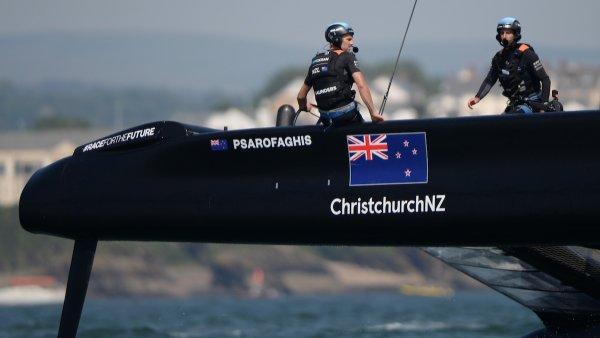 Das neuseeländische SailGP-Team bereitet sich auf Plymouth vor
