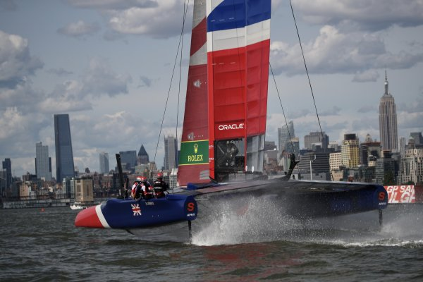 Brits back in action on the Race course in New York managing to retain third overall
