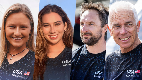 Moroz, Perez, Campbell-James, and Presti complete U.S. SailGP Team lineup