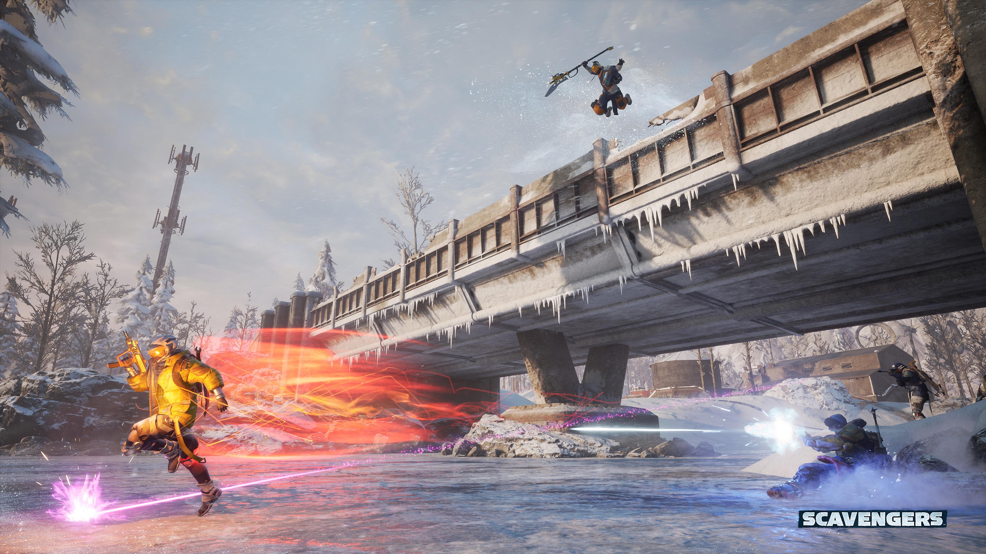 El free-to-play de superviviencia Scavengers también llegará a Xbox One 2