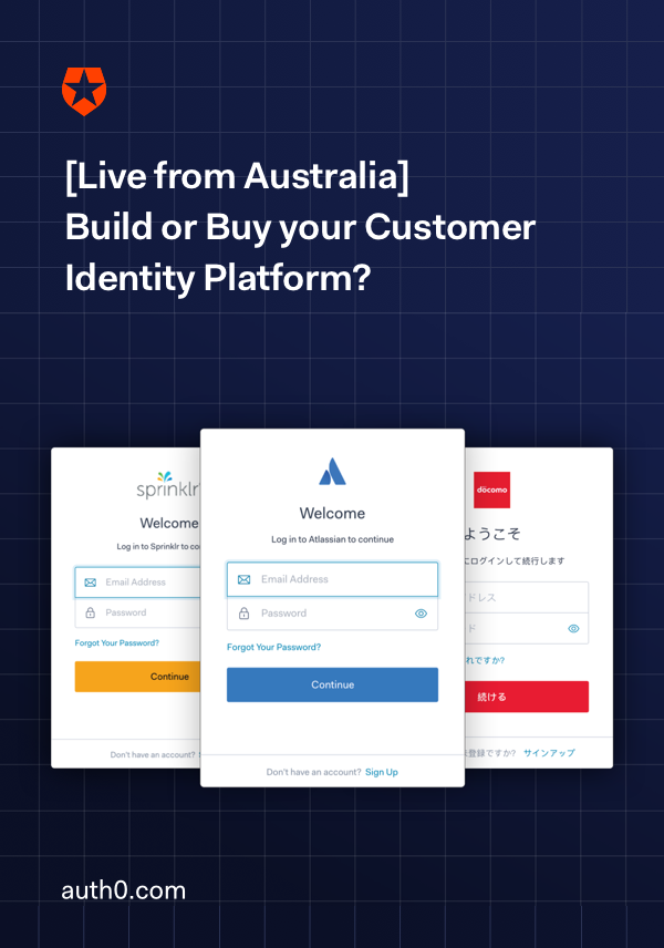 Build or Buy a Customer Identity Platform?