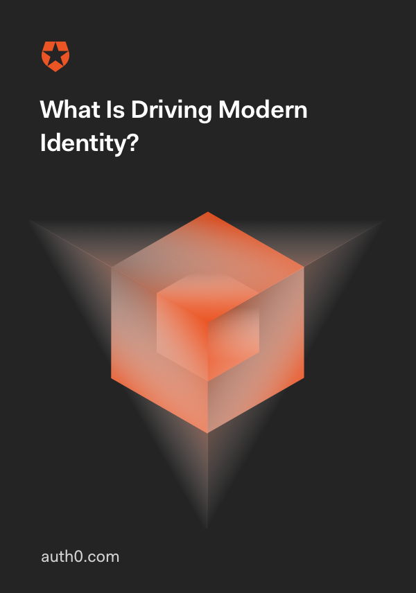 What is Driving Modern Identity?