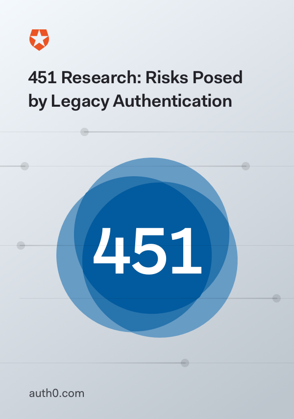 Risks Posed by Legacy Authentication