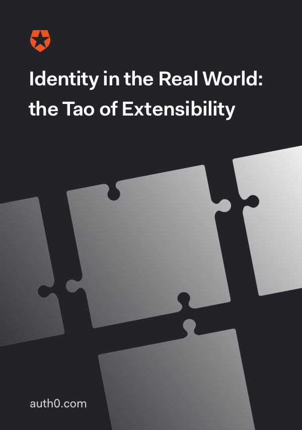 Identity in the Real Word: the Tao of Extensibility
