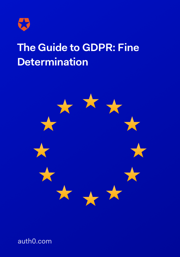 Guide to GDPR. Fine Determination
