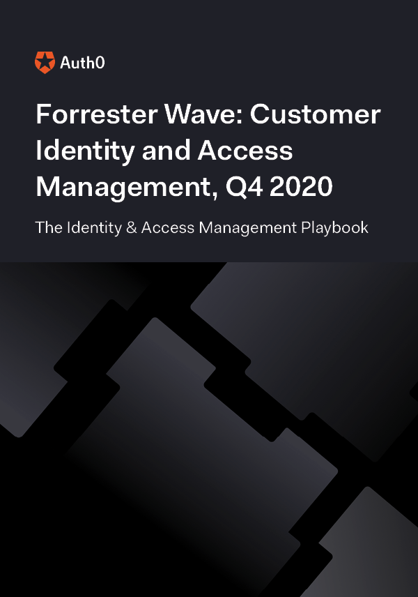 Forrester Wave: Customer Identity and Access Management, Q4 2020