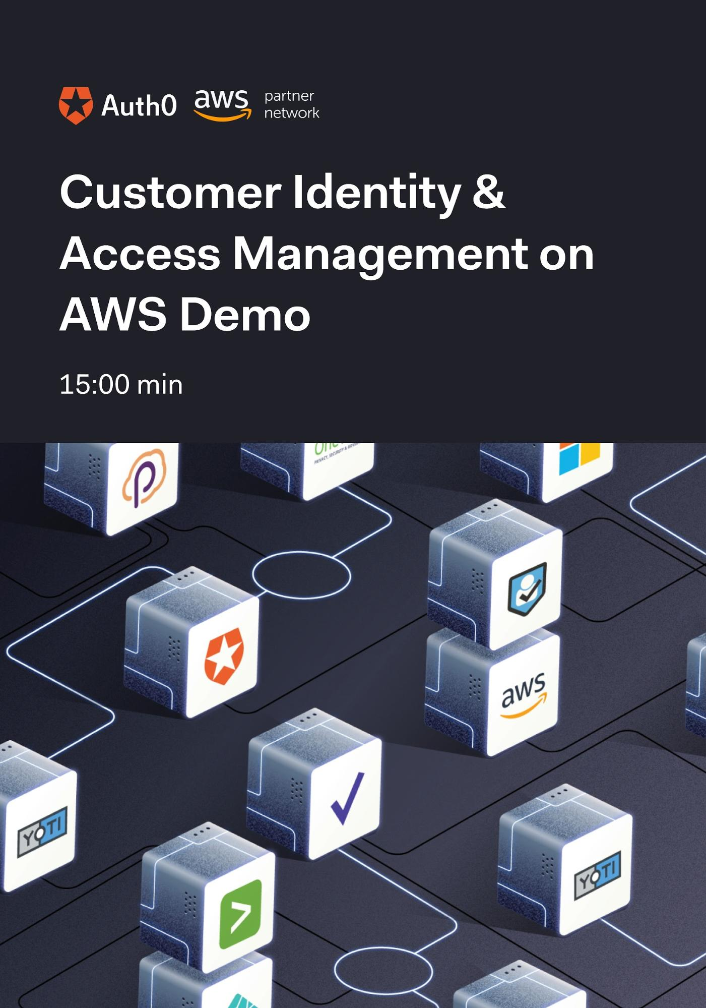 Auth0 Customer Identity and Access Management (CIAM) on AWS Demo Video